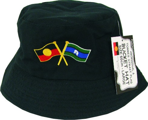 Indigenous   Aboriginal Giftware   Bucket Hat Aboriginal   Torres ... a35b9b81392