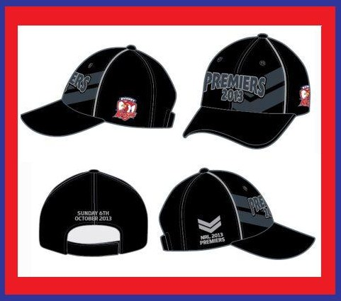 f9e2e9f0109 SYDNEY ROOSTERS NRL PREMIERS 2018  SYDNEY ROOSTERS NRL PREMIERS CAP 2013