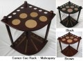 CORNER CUE RACK  BALL HOLDERS & COASTERS RACK 8137