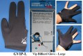 VIP BLACK BILLIARD GLOVE - 3 SIZES  gvip-l-new